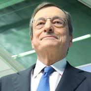 Der scheidende EZB-Präsident Mario Draghi zu Beginn seiner letzten Pressekonferenz.