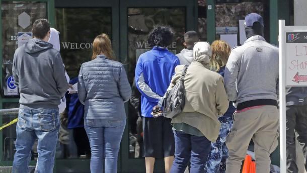 Amerikas Wirtschaftsleistung schrumpft um fast 5 Prozent