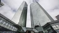 Deutsche-Bank-Türme in Frankfurt