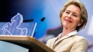Ursula von der Leyen sprach am Samstag in Barsinghausen.