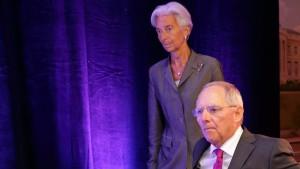 Schäuble: Euro wird an Finanzmärkten überschätzt