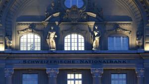 Schweizer Nationalbank setzt weiter auf Negativzinsen