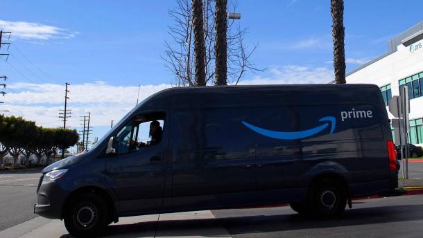 Amazon-Fahrer in Amerika werden künftig gefilmt