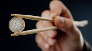Zweifel an Hilfe von China für Euro-Rettung