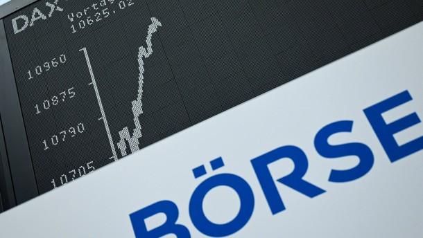 Jubelstimmung an der Börse