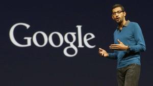 Endlich Google-Chef