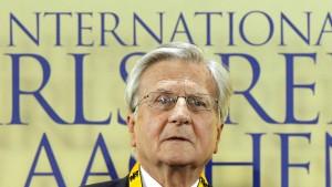 Trichet schlägt europäisches Finanzministerium vor