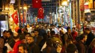 Auf dem Großen Basar in Istanbul: Handel macht die Menschen reicher, zeigt die Geschichte.