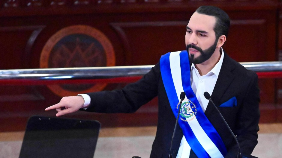 Nayib Bukele, Präsident von El Salvador