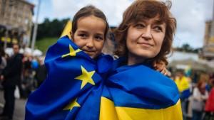 Ukraine rückt näher an die Europäische Union