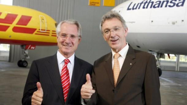 Lufthansa und Post gründen gemeinsames Unternehmen