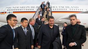 Gabriel verpasst ersten Termin in China