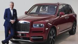 Luxus-SUV beschert Rolls-Royce Rekordjahr