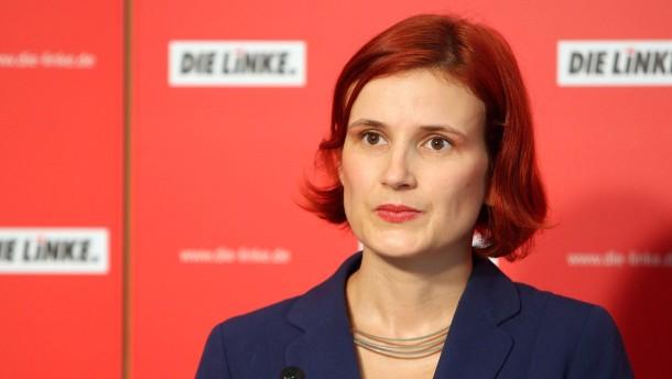 Linke wirbt fuer Koalition mit SPD und Gruenen