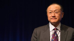 World Bank President Jim Yong Takes Part In Discussion at World Bank