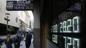Argentinien dementiert Gespräche über amerikanisches Darlehen