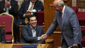 Kopf-an-Kopf-Rennen in Griechenland
