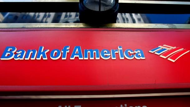 Bank of America zahlt 5,9 Milliarden Euro