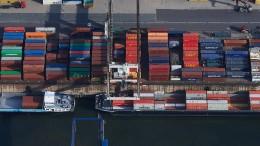 Deutscher Industrie brechen Aufträge weg