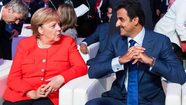 Qatar will zehn Milliarden Euro in Deutschland investieren