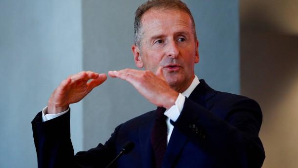 VW-Präsidium vertagt Entscheidung über Konzernchef Diess