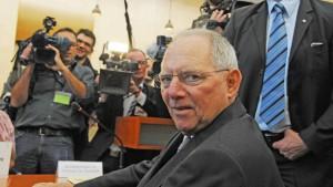 Schäuble an die Kandare