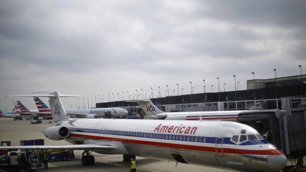 Technische Panne legt American Airlines-Flüge lahm