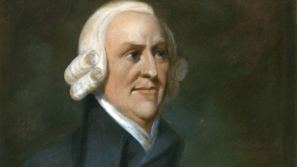 ADAM SMITH (1723-1790).  Scottish economist. After a painting by Charles Smith.