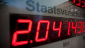 Deutscher Staat baut erstmals seit 1950 Schulden ab