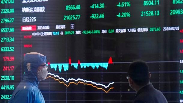 Investoren sehen China auf gutem Weg