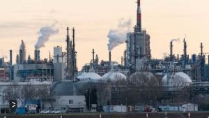 Klima schonen, Russland schwächen