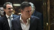 Peter Thiel am 16. November im Trump-Tower in New York.