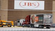 Ein Werk des Fleischkonzerns JBS in Michigan