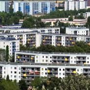 Sanierte Plattenbauten in Berlin-Marzahn