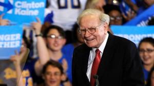 Nach Kritik an Trump meldet Warren Buffett ein sattes Gewinnplus