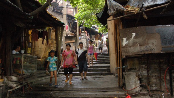 Chinas alte Mitte