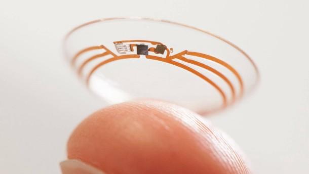 Google entwickelt smarte Kontaktlinse zusammen mit Novartis