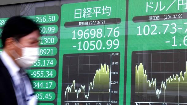Wie geht Tokio gegen den Aktienkursverfall und die Yen-Stärke vor?