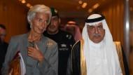 Nach 20 Jahren im Amt musste auch der 67 Jahre alte Finanzminister Ibrahim al Assaf seinen Platz räumen.