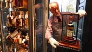 Wenn der Whisky fast eine Million Euro kostet