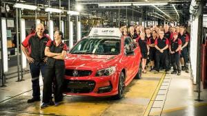 Australiens letzte Autofabrik schließt