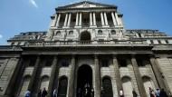 Die Bank of England macht Werbung für den Finanzplatz London.
