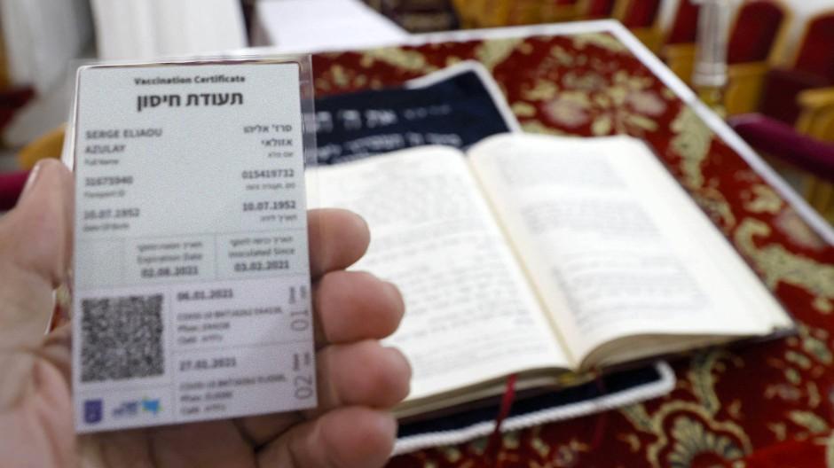 Der Impfpass in Israel bringt Freiheiten mit sich.