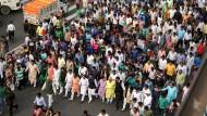 Proteste gegen Bargeldreform in Indien