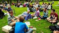 Die britischen Millennials  sind abgehängt