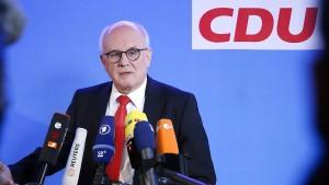 CDU-Fraktionschef: Auch Europa könnte Zölle erhöhen