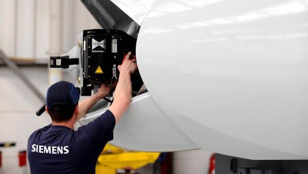 Siemens wechselt Chef der Hochgeschwindigkeitszug-Sparte aus