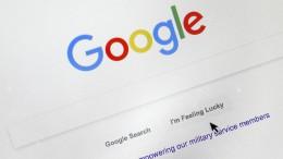 """Alarmstufe Rot"" für Google"