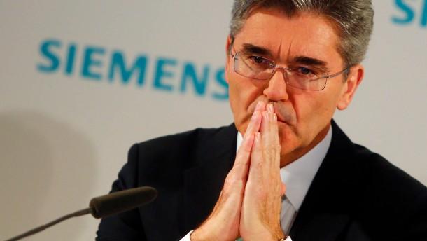 Was der neue Siemens-Chef Kaeser tun muss
