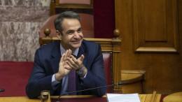 """Mitsotakis: """"Griechenland ist zurück!"""""""